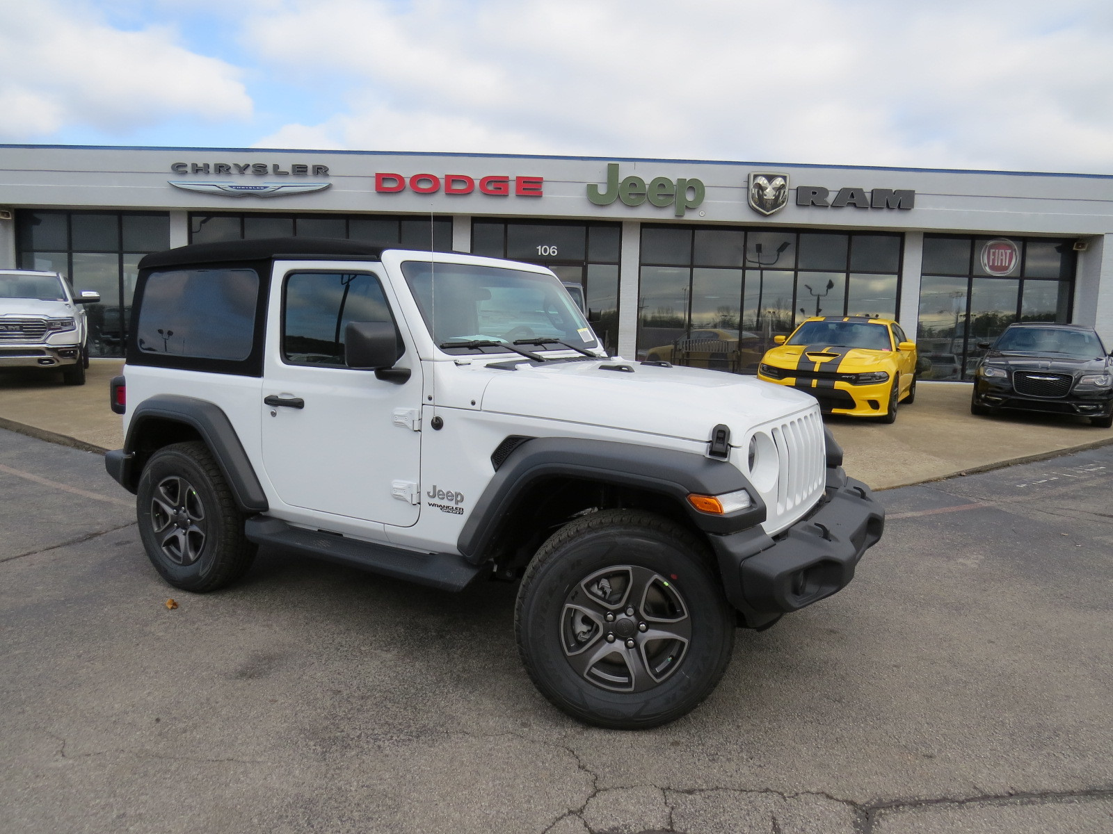 New 2018 JEEP Wrangler Sport S Sport Utility for Sale W