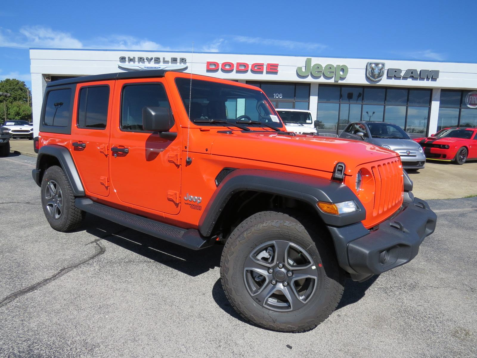 New 2018 JEEP Wrangler Unlimited Sport S Sport Utility for Sale
