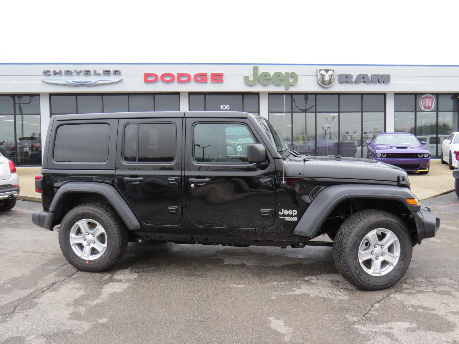 New 2019 JEEP Wrangler Unlimited Unlimited Sport S