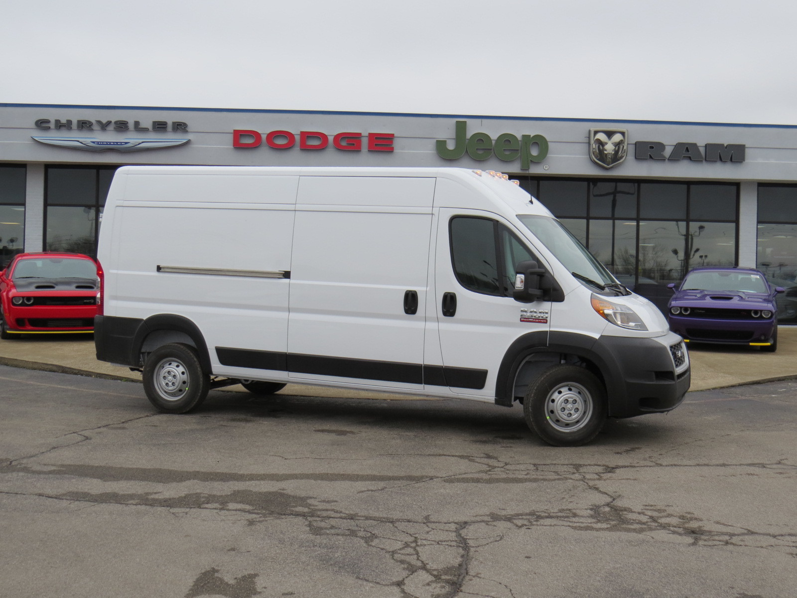 dodge ram promaster warning lights