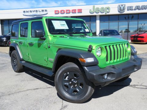 New 2018 JEEP Wrangler Unlimited Unlimited Sport